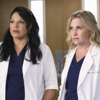 Callie and Arizona on Season 11 - Grey's Anatomy