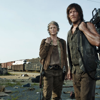 Daryl and carol in the walking dead season 5