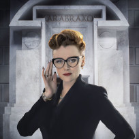 Keeley Hawes as Mrs. Delphox - Doctor Who Season 8 Episode 5