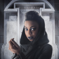 Pippa Bennett-Warner as Saibra - Doctor Who Season 8 Episode 5