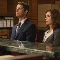 Finn and alicia face off in court the good wife s6e1