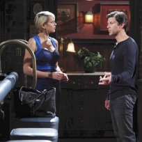 Nicole Pushes Eric - Days of Our Lives