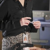 What Is Teresa Holding? - Days of Our Lives