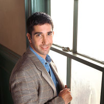 David schwimmer promo pic friends