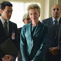 Portia de Rossi on Scandal Season 4 Episode 1