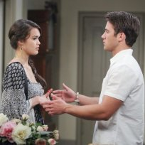 Paige Overhears Unsettling News - Days of Our Lives