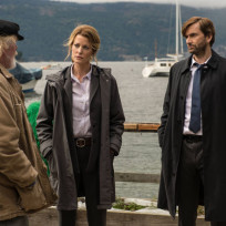 Carver and Miller interview Reinhold - Gracepoint Season 1 Episode 1