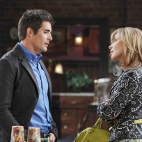 Rafe Warns Kate - Days of Our Lives