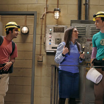 The steam tunnel the big bang theory
