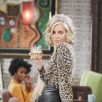 Kristen in Leopard - Days of Our Lives
