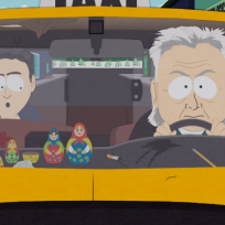 The taxi driver south park