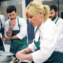 A quickfire challenge top chef