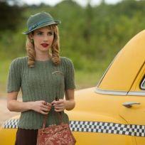 Emma Roberts on the Freak Show - American Horror Story Season 4 Episode 3