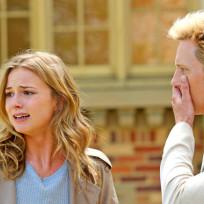Emily in shock