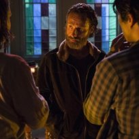 Conference with rick the walking dead s5e3
