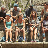 The teams are reconfigured survivor