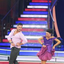 Janel Parrish and Val Chmerkovskiy Dance Jazz  - Dancing With the Stars Season 19 Episode 5