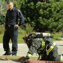 Herrmann trains dawson chicago fire s3e6