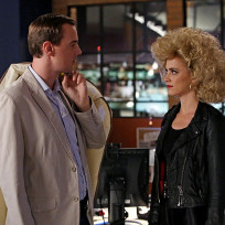Mcgee checks out the hair ncis s12e6