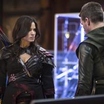 "Arrow Photos from ""The Magician"""