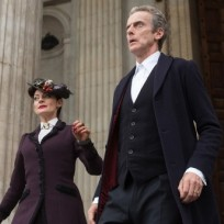 Missy and the doctor doctor who s8e11