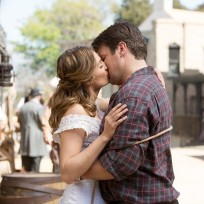 A caskett kiss castle