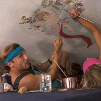 Painting the ceiling the amazing race