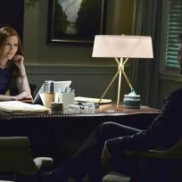 Abby and Leo Talk - Scandal Season 4 Episode 7