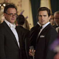 Peter and neal work the case white collar