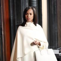 Olivia in White - Scandal Season 4 Episode 8
