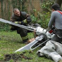 Herrmann and Otis work together - Chicago Fire Season 3 Episode 8