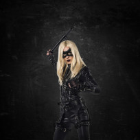 Katie Cassidy as Black Canary - Arrow