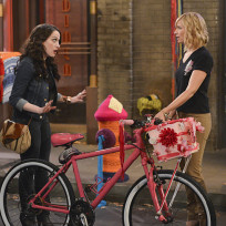 Riding a bike 2 broke girls