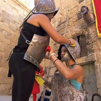 Polishing the armor the amazing race
