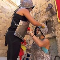 Polishing the armor the amazing race