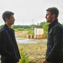 Barry and oliver the flash