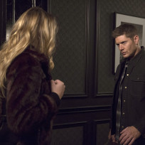 Fighting with a girl supernatural