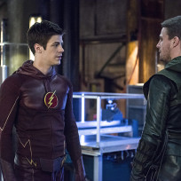 Barry and oliver arrow