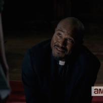 Priest on walking dead