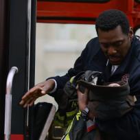 Boden's cradles a baby - Chicago Fire Season 3 Episode 10
