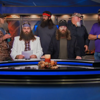 The robertsons make news duck dynasty