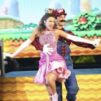 Sadie robertson and mark ballas dance freestyle dancing with the