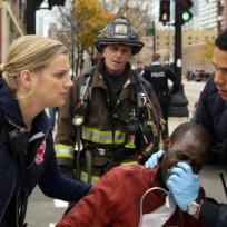 Folks on chicago fire