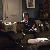 Alaric with elena the vampire diaries s6e10