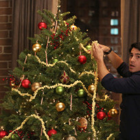 Their first christmas the mindy project