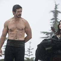 Ra's al Ghul and Nyssa al Ghul - Arrow