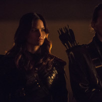 Nyssa and Friend - Arrow Season 3 Episode 9