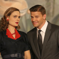 What a good looking couple bones s10e10