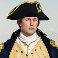 Jason omara as george washington sons of liberty