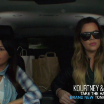 Kourtney and khloe kardashian klash kourtney and khloe take the